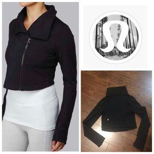 Lululemon Cropped Principal Jacket in Black